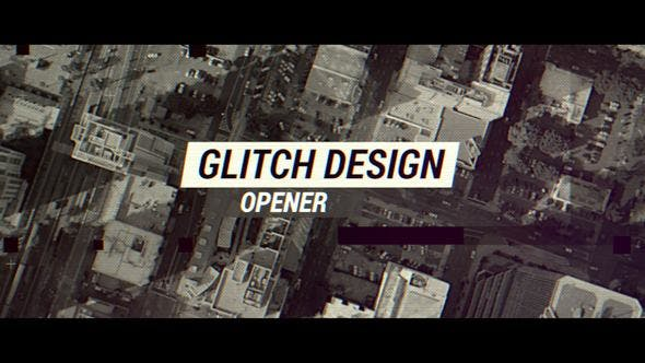Cover Image for Glitch Design Opener
