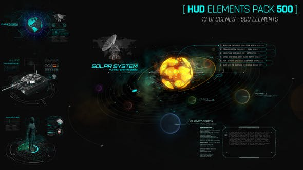 Thumbnail for Hud Elements Pack