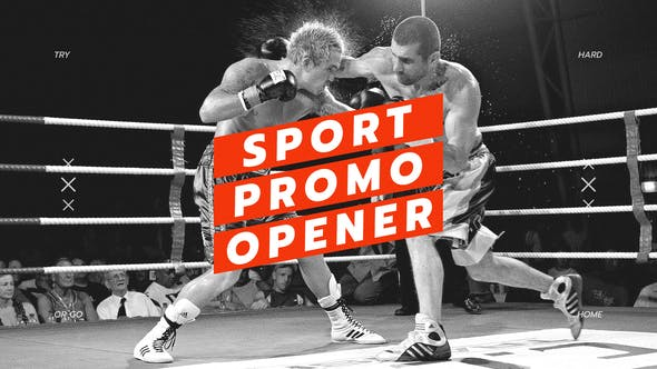 Thumbnail for Sport Opener / Fitness and Workout / Event Promo / Dynamic Typography