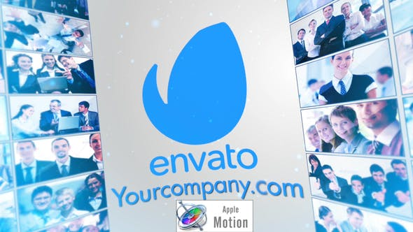 Thumbnail for Corporate Multi Video LCD Screens - Apple Motion