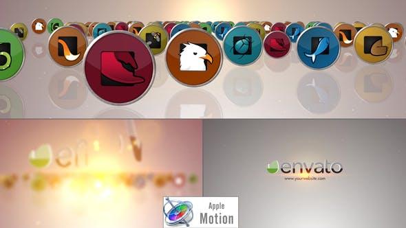 Thumbnail for Social Media Logo V2 - Apple Motion