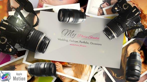 Thumbnail for Photographe Logo V2 - Apple Motion