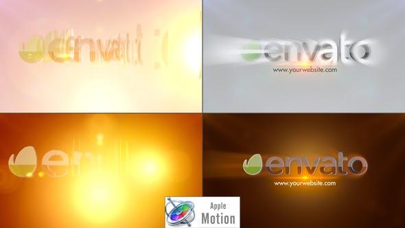 Thumbnail for Elegant Rays Logo - Apple Motion