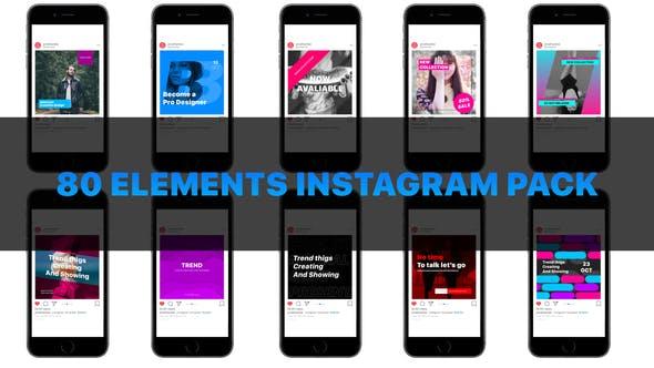 Thumbnail for Instagram smm pack