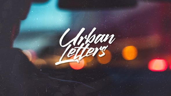 Thumbnail for Urban Letters