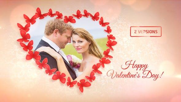Sweet Butterflies: Valentine's Day Card