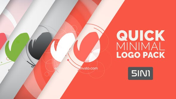 Thumbnail for Quick Minimal Logo Pack