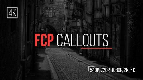 FCP Callouts