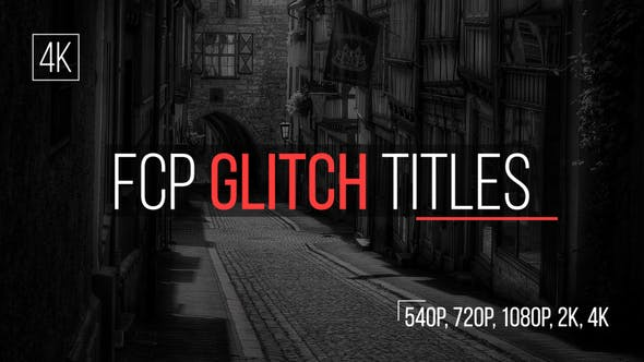 Thumbnail for FCP Glitch Titles