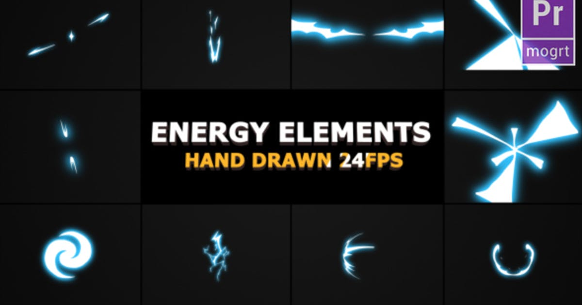 Download Flash FX Energy Elements And Transitions by FlashFXbox