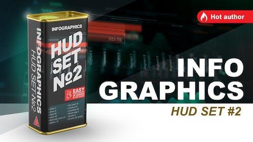 infographics HUD set 2