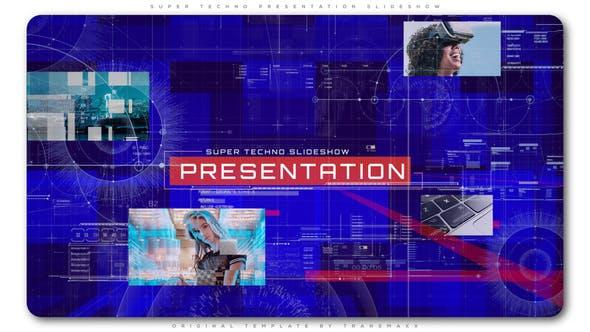 Thumbnail for Super Techno Presentation Slideshow