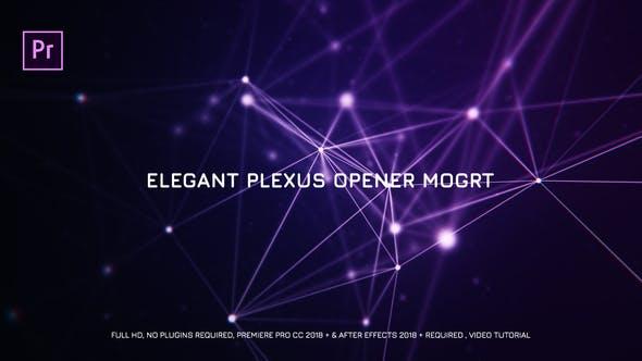 Thumbnail for Elegant Plexus Opener Mogrt