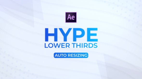Cover Image for HYPE Lower Thirds