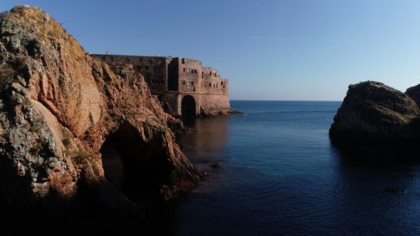 Fortress in Berlengas Island, Portugal