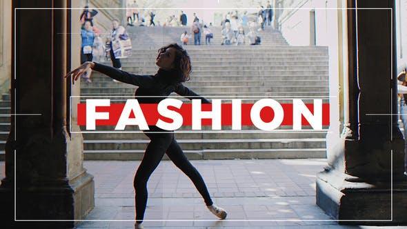 Thumbnail for Dynamic Opener | Stylish Slideshow | Fashion Intro | Fast Promo