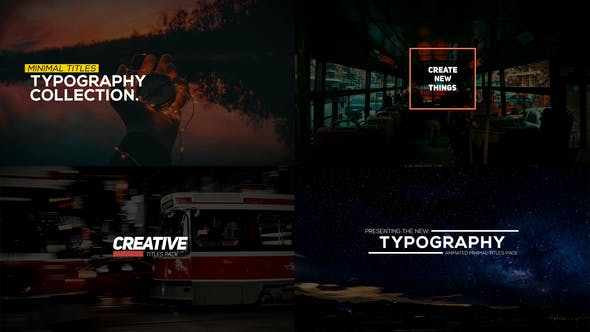 Thumbnail for Animated Typography Pack for Premiere Pro