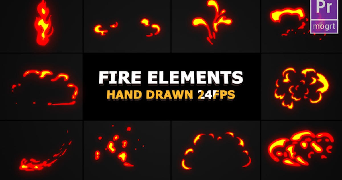 Download Flash FX Flame Elements by FlashFXbox