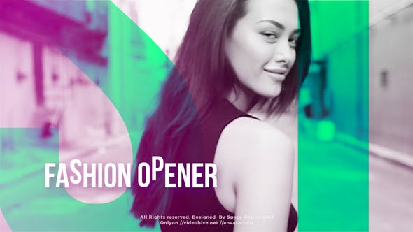 Thumbnail for Fashion Opener | FCPX or Apple Motion
