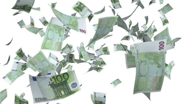 Thumbnail for Money Euro Bills Raining