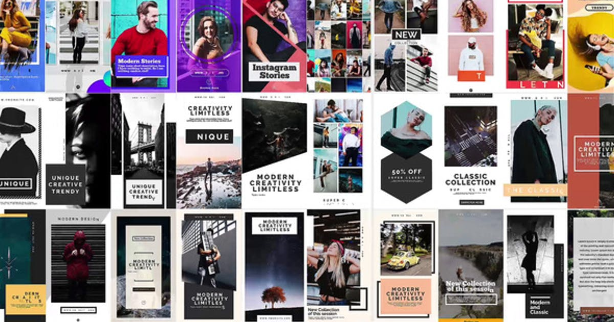 Download instagram Stories V.5 by Media_Stock