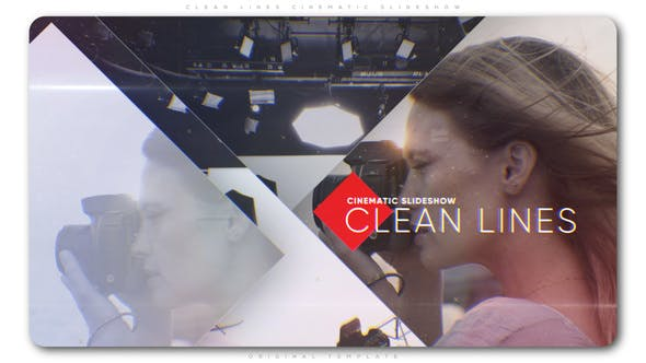 Cover Image for Clean Lines Cinematic Slideshow