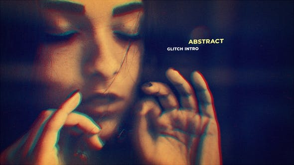 Cover Image for Abstract Glitch Intro