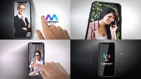 Thumbnail for Phone X Logo Reveals