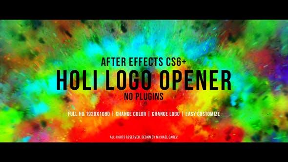 Thumbnail for Holi Logo Opener