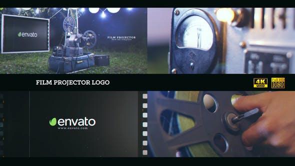 Thumbnail for Film projector Logo 4K