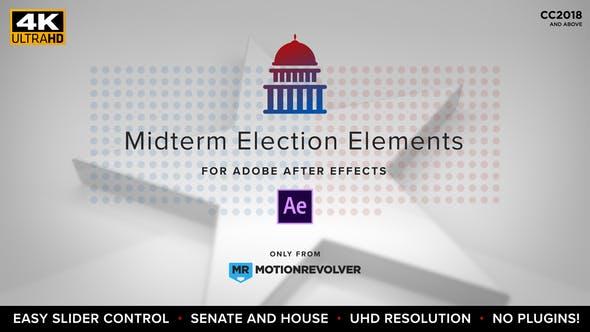Thumbnail for Elementos de la elección de mitad de período | House & Senate
