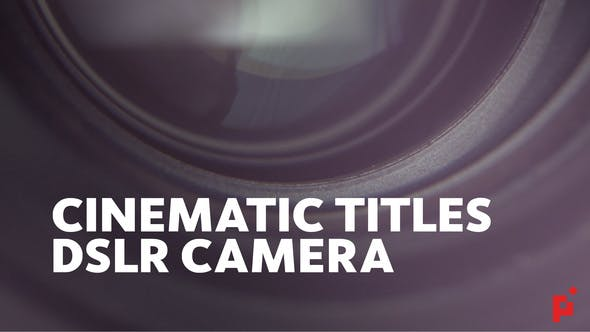 Thumbnail for Cinematic Titles // DSLR Camera