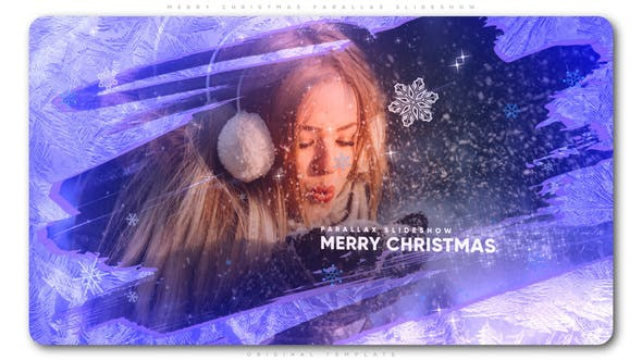Thumbnail for Merry Christmas Parallax Slideshow