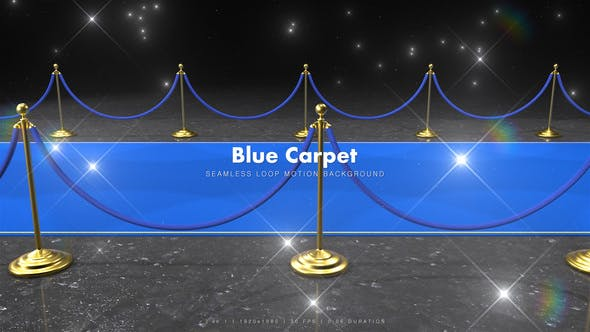 Thumbnail for Blue Carpet Glitter 2