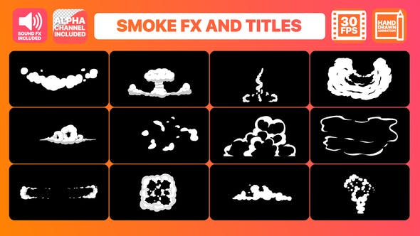 Thumbnail for Hand Drawn Smoke FX and Titles