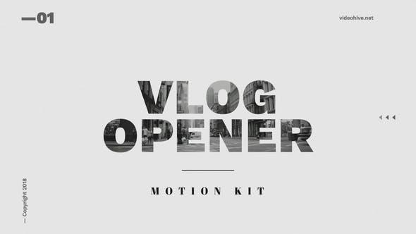 Thumbnail for Vlog Opener