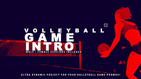 Volleyball Game Promo