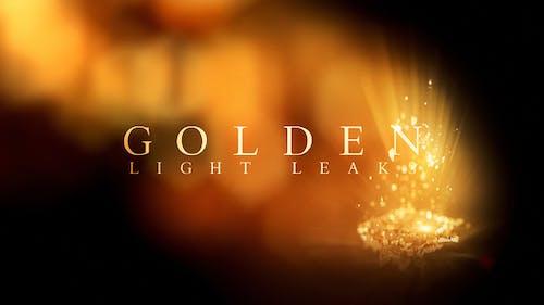 Golden Light Leaks