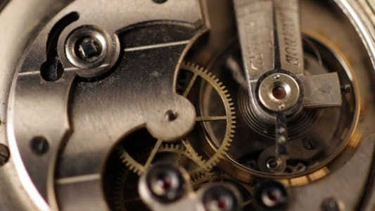 Thumbnail for Pocket Watch Mechanism Close Up