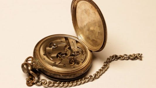 Thumbnail for Vintage Pocket Watch On White