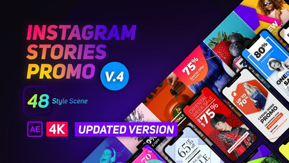 Thumbnail for Instagram Stories Promo