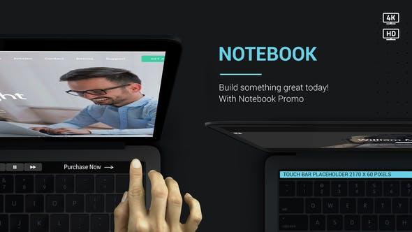 Thumbnail for Notebook Website Promo v2
