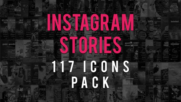 Thumbnail for Instagram Stories Icons Pack