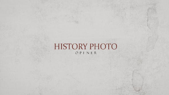 Thumbnail for History Photo Opener