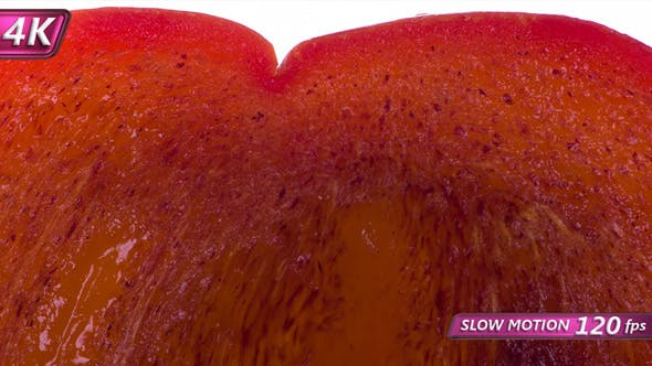 Thumbnail for Squeeze A Slice Of Juicy Persimmon