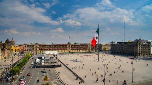 Mexico City's Central Square the Zocalo