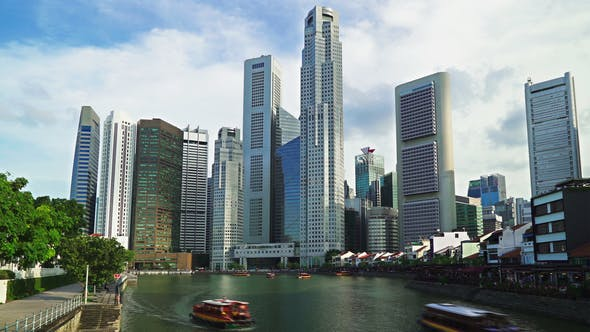 Cover Image for Singapore River Timelapse