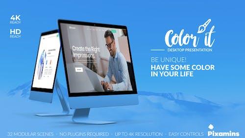 Color it - Desktop Presentation