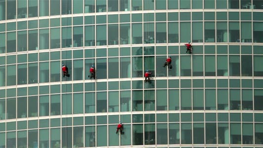 Thumbnail for Climbers On A Skyscraper