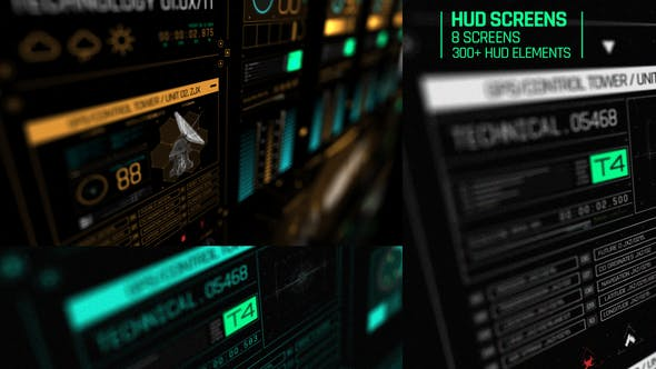 HUD Screens - product preview 0